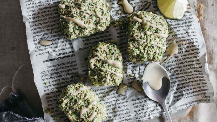 Vegan Broccoli Nuggets