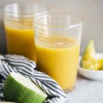Vegan Mango, Lime And Ginger Smoothie