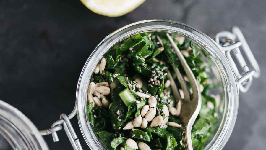 Vegan Quick Massaged Kale Salad