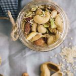 Vegan Nuts, Seeds And Coconut Mix
