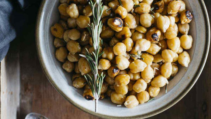 Roasted Turmeric Chickpeas