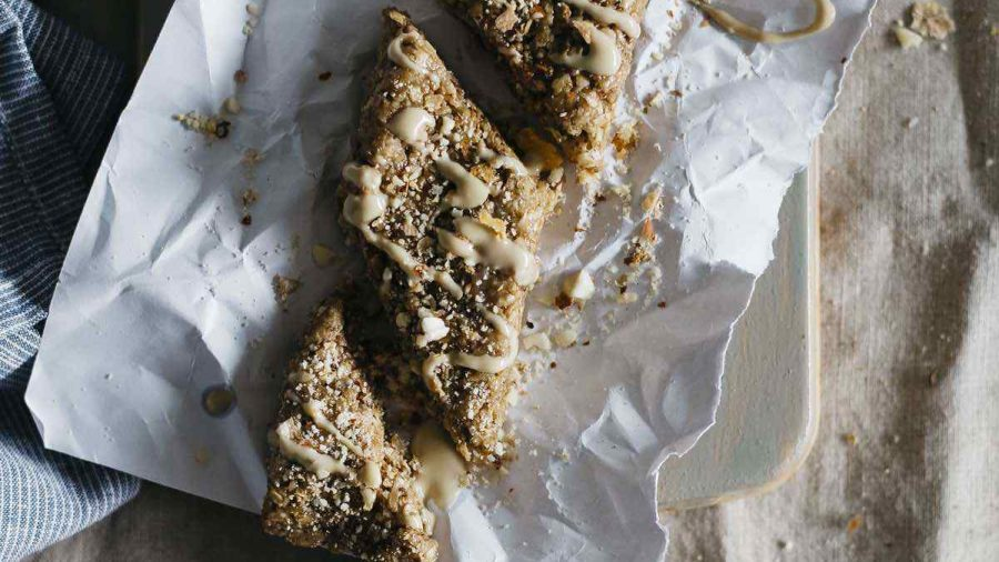 Vegan Tahini Energy Bars
